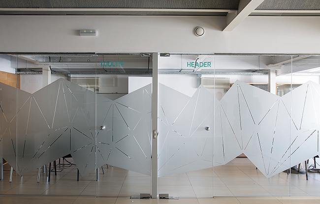 llum natural a les sales de reunions de la reforma d'interior de les oficines